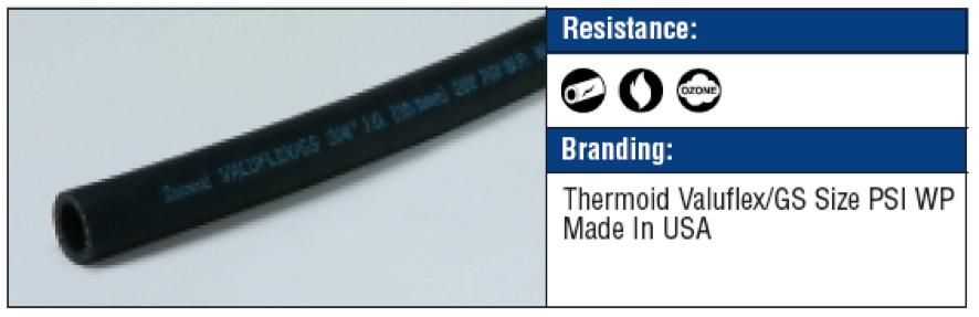 Valuflex GS Black hoses