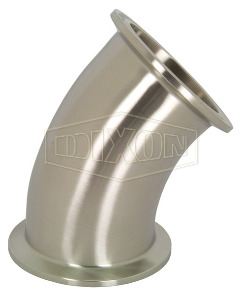 Sanitary 45 Degree Clamp Elbow