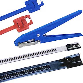 Coated Stainless Steel Ties and Tools