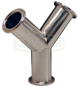 Sanitary True Y Fittings