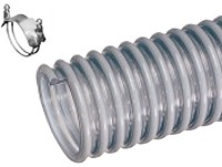 Kuriyama - W Heavy Duty PVC Multi-Purpose Suction Hose - 1-1/2 in. X 100 ft. - OD: 1.85 in.