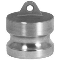 # DIX600-DP-SS - Type DP Dust Plugs - Stainless Steel - 6 in.