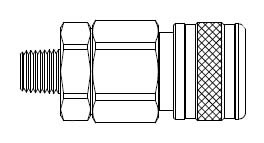 # 4905 - 5 Series 1/2 in. - Male Thread - Manual Socket - 1/4 in.