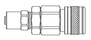 5 Series 1/2 in. - Reusable Hose Clamp - Manual Socket