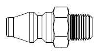 # A-10 - A70 Series 1/4 in. - Male Thread - Plug - 1/4 in.