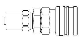 # O-SB9 - O60 Series 1/4 in. - Reusable Hose Clamp - Manual Socket - 1/4 in. x 11/16 in.