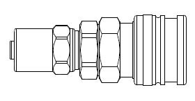 # O-SD7 - O60 Series 1/4 in. - Reusable Hose Clamp - Manual Socket - 3/8 in. x 5/8 in.