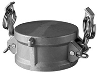 # SS-DC600 - Dust Cap - Type DC - Stainless Steel - 6 in.