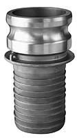 # AL-E075 - Shank Adapter - Type E - Aluminum - 3/4 in.