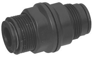# DIX31165600 - Bulkhead Union (Tube to Tube) - Tube O.D.: 1/4 in.