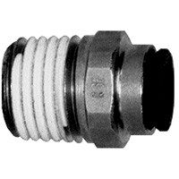 # DIX31756022 - Male Connector (Tube to Male NPT) - Tube O.D.: 3/8 in. - Male NPT: 1/2 in.