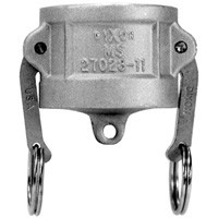 # DIX600-DC-SS - Type DC Dust Caps - Stainless Steel - 6 in.