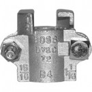 # DIXBB4 - Boss Clamp - 2-Bolt Type - Brass - Hose ID: 1/2 in. - Hose OD: 60/64 in. to 1-4/64 in.