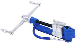 Band-it Tool, Tension limiter, Ratchet Tool and Free-End Clamps