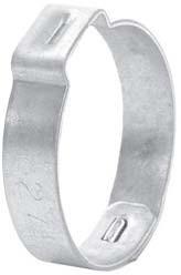 # DIX440 - Pinch-On Single Ear Clamp - Size 1-23/32 in. - Zinc Plated Steel