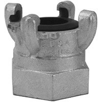 # DIXAM18 - Air King 4-Lug Quick-Acting Coupling - Female NPT Ends - Iron - 1-1/4 in.