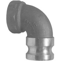 # DIX150A-90AL - 90 Degree Adapter x Female NPT Elbow - Aluminum - 1-1/2 in.