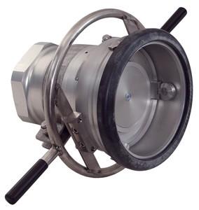 Mann Tek Dry Disconnect Coupler Hose Unit x Female NPT, Aluminum, FKM (FPM) seal
