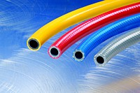Kuriyama - Special Purpose PVC/Polyurethane Air Hose - Blue - 3/4 in. X 300 ft. - OD: 1.06 in.