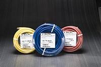 Kuriyama - Utility-Grade PVC Air Tool Hose Assemblies - Red - 3/8 in. X 50 ft. - OD: 0.6
