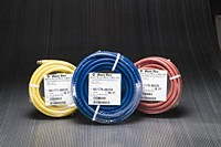 Kuriyama - Utility-Grade PVC Air Tool Hose Assemblies - Red - 1/4 in. X 50 ft. - OD: 0.475