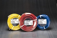 Kuriyama - Utility-Grade PVC Air Tool Hose Assemblies - Blue - 3/8 in. X 50 ft. OD: 0.6