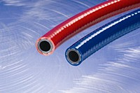 Kuriyama - General Purpose PVC Air and Water Hose - Red - 1/2 in. X 500 ft. - OD: 0.75 in.