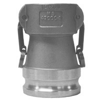 # DIX2030-DA-SS - Reducing Couplers x Adapters - Stainless Steel - 2 in. x 3 in.