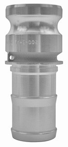 # DIX100-E-AL - Type E Adapters male adapter x hose shank - Aluminum - 1 in.