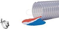 Kuriyama - 2001 Polyurethane-Lined PVC Food Grade Material Handling Hose - 6 in. X 60 ft. - OD: 176 in.