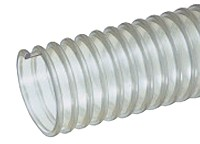Kuriyama - UVF Standard Duty Polyurethane Food Grade Lightweight Blower and Ducting Hose - 4 in. X 50 ft. - OD: 4.5 in.