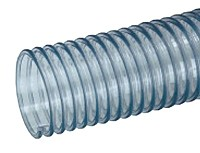 Kuriyama - GTF PVC Food Grade Lightweight Blower and Ducting Hose - 1-1/2 in. X 50 ft. - OD: 1.82 in.