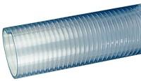 Kuriyama - FT Heavy Duty PVC Food Grade Material Handling Hose - 5 in. X 20 ft. - OD: 5.51 in.