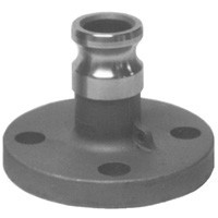 # DIX200-AL-SS - Adapter x 150# Flange - Stainless Steel - 2 in.