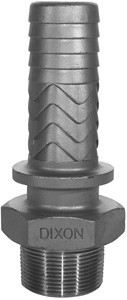 # DIXRMS1 - Boss Male Stem - 316 Stainless Steel - 1/2 in.