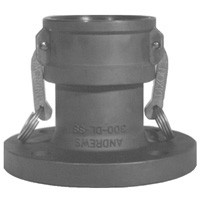 # DIX800-DL-AL - Coupler x 150# Flange - Aluminum - 8 in.