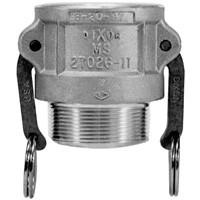 # DIX400-B-BR - Dixon Type B Couplers female coupler x male NPT - Brass - 4 in.