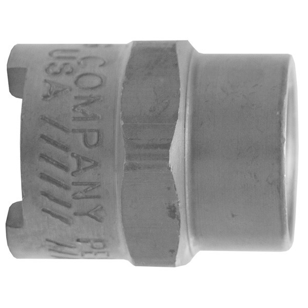 # DIXQM101 - Dix-Lock Quick Acting Couplings - Female Head x Female NPT End - Plated Steel - 3/8 in.