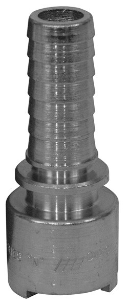 # DIXQM21 - Dix-Lock Quick Acting Couplings - Female Head x Hose End - Plated Steel - 3/8 in.