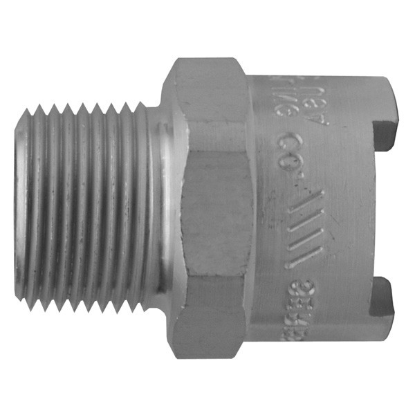 # DIXQB62 - Dix-Lock Quick Acting Couplings - Female Head x Male NPT End - Brass - 1/2 in.