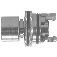 # DIXPFL8FS - Female Pipe Thread with Knurled Flanged Sleeve - 1/2 in.