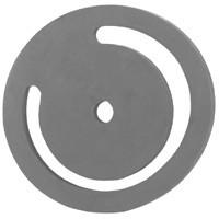 # DIXFVL60 - Cast Iron Threaded Foot Valves - Valve - Rubber - 6 in.