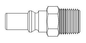 310 Series 3/8 in. - Male Thread - Plug