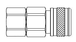 5 Series 1/2 in. - Female Thread - Manual Socket