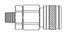 5 Series 1/2 in. - Male Thread - Manual Socket