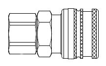 # A-2803 - A70 Series 1/4 in. - Female Thread - Manual Socket - 1/8 in.