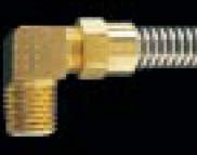 FR25L - Hytrel Recoil Hose Fitting - Elbow - 1/4 in.