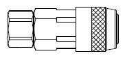 # LN3003M - LN Series - Female Thread - Manual Socket - 1/4 in.