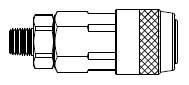 # LN3103M - LN Series - Male Thread - Manual Socket - 1/4 in.
