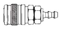 # SG1713 - 1/4 in. One Way Shut-Off - Push-On Hose Stem - Manual - Sleeve Guard - Socket - 3/8 in.